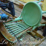 Clases de Restauración y Reciclaje de Muebles – año 2012