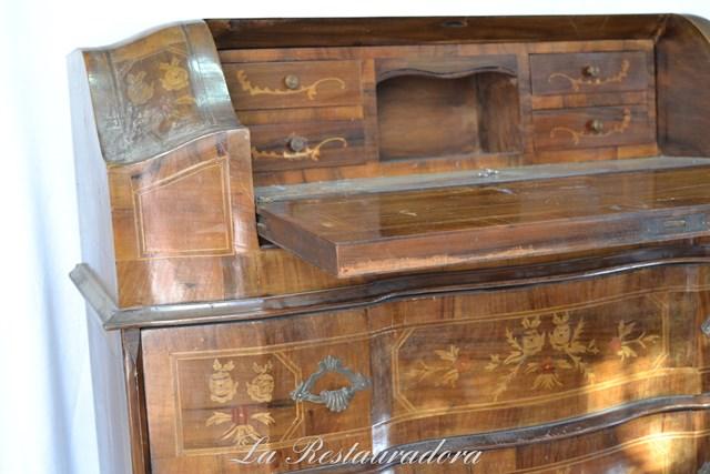 La Restauradora escritorio marquetería (11)