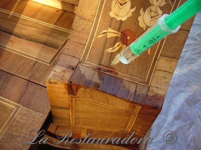 La Restauradora restauración escritorio marqueteria 2013 (2)