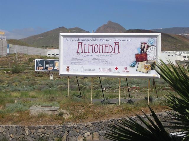 Valla VI Feria ALMONEDA