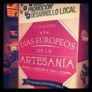 Días Europeos de la Artesanía – II Muestra Artesana en La Laguna.