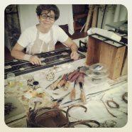 Restauración de un escritorio napolitano.