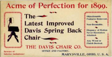 Etiqueta Davis Chair