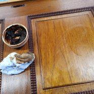 Restauración de una caja de cedro canaria.